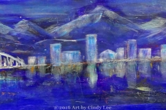 cityScape3_2012 Mixed on cardstock 13x46_1200(C)