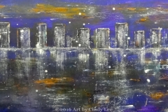 cityScape5_2012 Mixed on cardstock 13x46_1200(C)