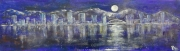 cityScape6_2012 Mixed on cardstock 13x46_1200(C)