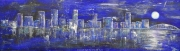 cityScape7_2012 Mixed on cardstock 13x46_1200(C)