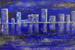 CityScape2_2012 Mixed on cardstock 13x46_1200(C)