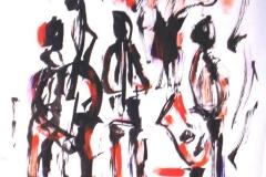 Jazz Trio 3 2003 MIxed on Paper 24x18_1200(C)