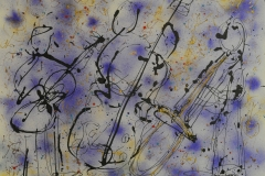 Jazz Trio Blues 2 2005 Mixed on Watercolor 24x36_1200(C)
