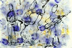 Bluze Jazz Trio 2009, 36x24