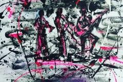 Jazz Trio in Pink_JazzArt_2018