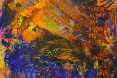 Jazzin Jam 2001 Mixed on Watercolor 36x24_1200(C)