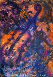 JazzCollage2002 Acrylic on Watercolor 36x24_1200(C)