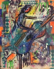 Jazz Guitar Graffiti